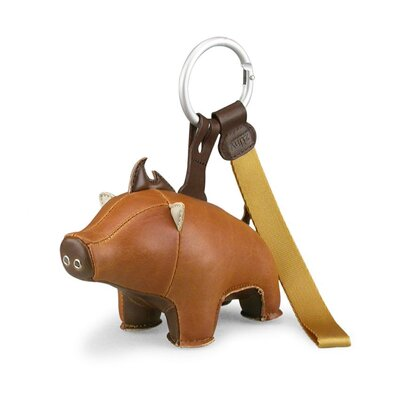 Zuny Babu the Boar Key Ring