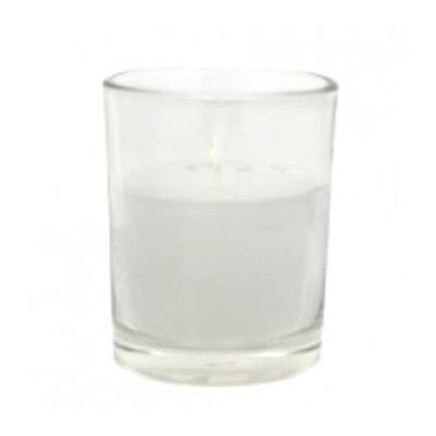 Zest Candle Citronella Round Glass Votive Candle