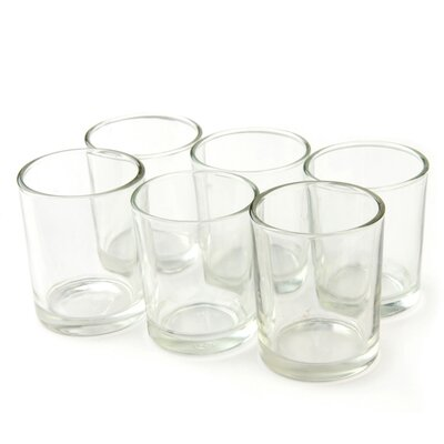 Zest Candle Round Glass Votive Holder