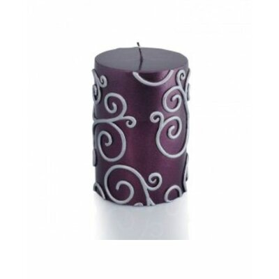 Zest Candle Scroll Pillar Candle
