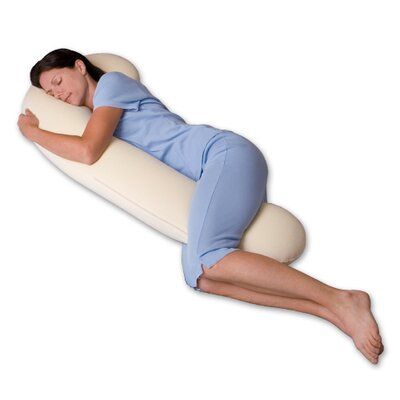 Snoozer Body Pillow DreamWeaver 500 Thread Count Ergonomic Body Pillow