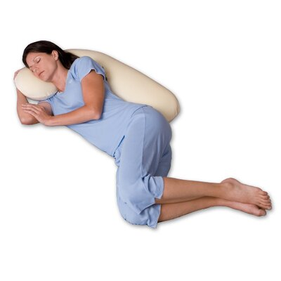 Snoozer Body Pillow Snuggle Buddy 500 Thread Count Ergonomic Body Pillow