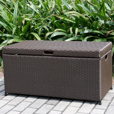 jeco 110 gallon resin deck box reviews wayfair