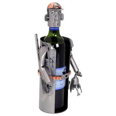H & K SCULPTURES Hunter Wine Caddy