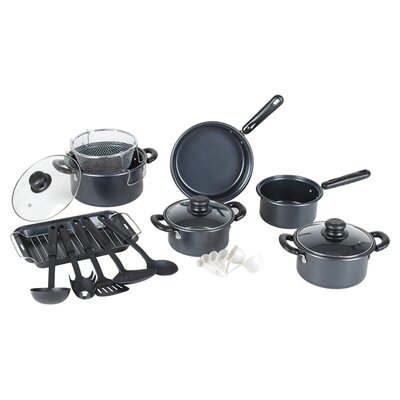 Gourmet Chef Complete 22-Piece Nonstick Cookware Set