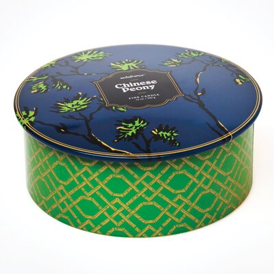 Seda France Jardin Chinese Peony 3-Wick Tin Candle