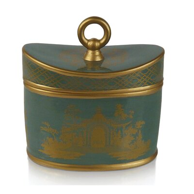 Seda France Jardin Royal Incense Ceramic 2-Wick Candle