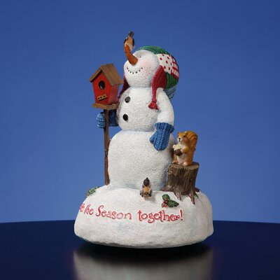 "San Francisco Music Box ""Celebrate the Season Together"" Figurine"