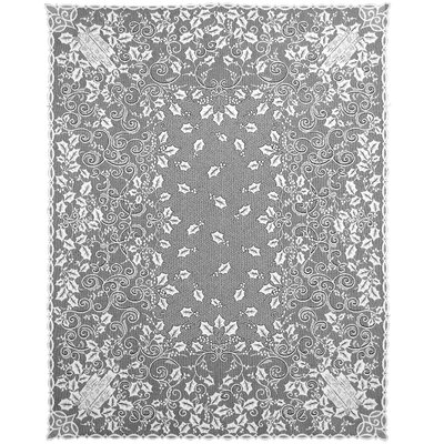 Holly Glow Rectangle Tablecloth