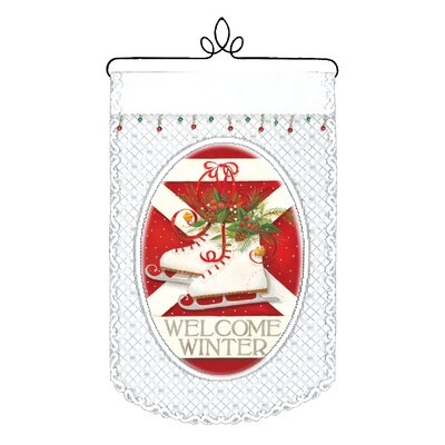 Heritage Lace Welcome Winter Wall Decor