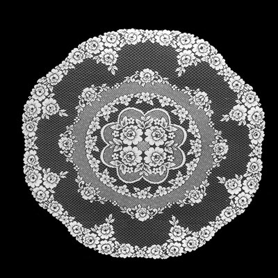 Victorian Rose Round Table Topper