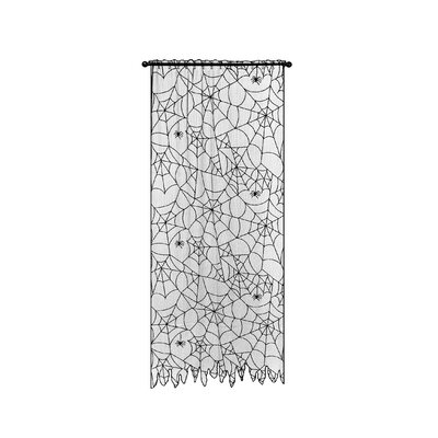 Heritage Lace Creepy Crawly Polyester Curtain Single Panel