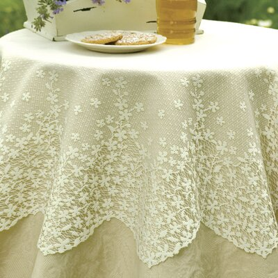 Heritage Lace Blossom Round Table Topper