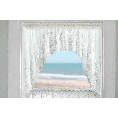 Heritage Lace Seascape Rod Pocket Swags Curtain Valance