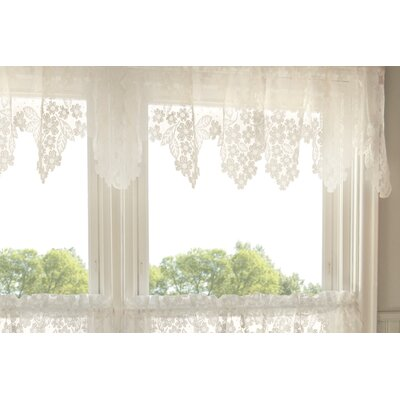 "Heritage Lace Dogwood 55"" Curtain Valance"