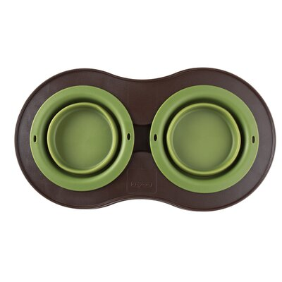 Dexas Double Elevated Pet Feeder