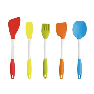 Dexas Silicone Utensil Set (5 Piece)