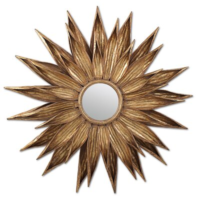 Two's Company Sunflower Wall Mirror