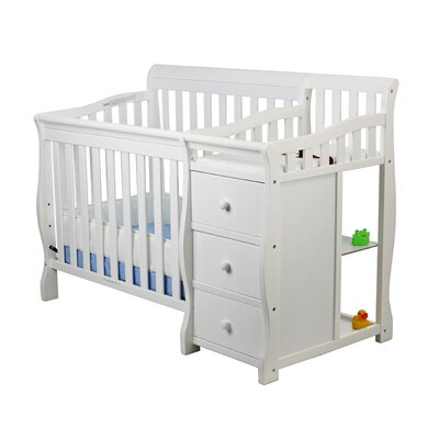 Dream On Me Jayden Portable Convertible Crib and Changer
