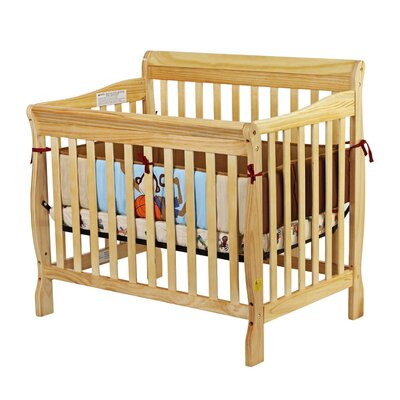Dream On Me Aden Mini 3-in-1 Convertible Crib