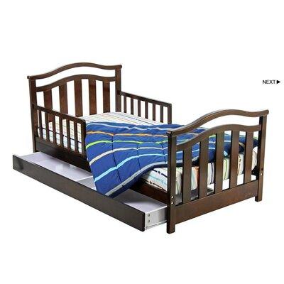 Elora Toddler Bed with Storage Drawer
