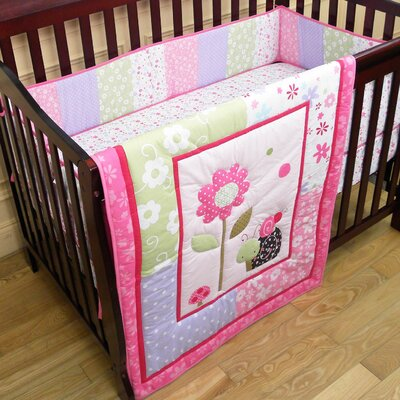 Spring Time 3 Piece Crib Bedding Set
