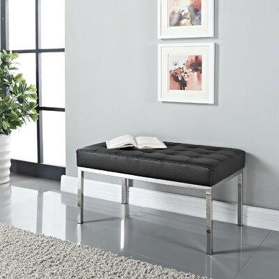 Modway Loft Upholstered Entryway Bench