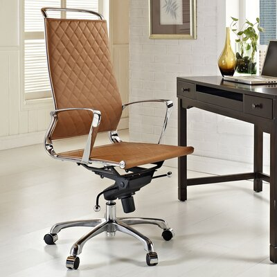 Modway Vibe High-Back Leather Executive Office Chair