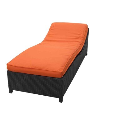 Surmount Chaise Lounge with Cushion