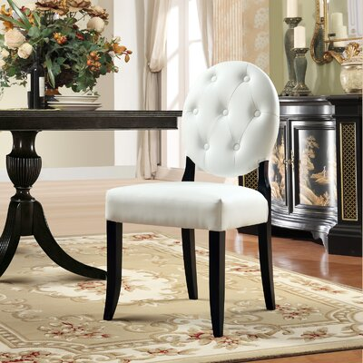Modway Button Side Chair