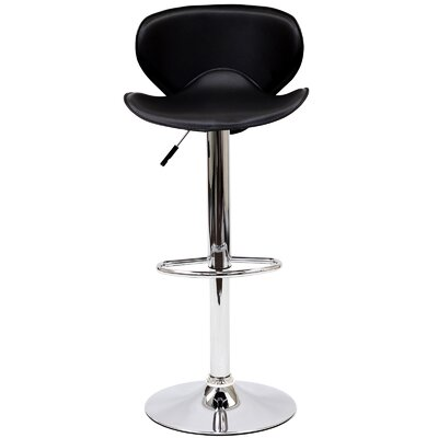 "Modway Booster 21.5"" Adjustable Swivel Bar Stool"