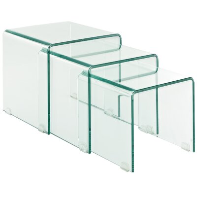 Modway Cascade Nesting Coffee Table (Set of 3)