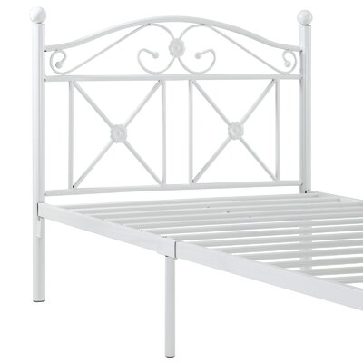 Modway Cottage Twin Iron Bed