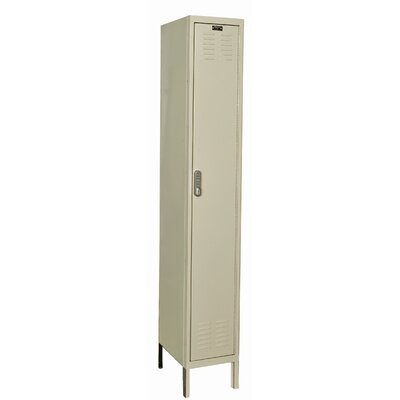 Hallowell DigiTech Electronic Locker Single Tier 1 Wide (Knock-Down) (Quick Ship)