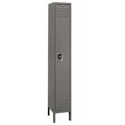Hallowell ReadyBuilt Locker Single Tier 1 Wide (Assembled)