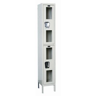 Hallowell Safety-View 2 Tier 1 Wide Stock Locker