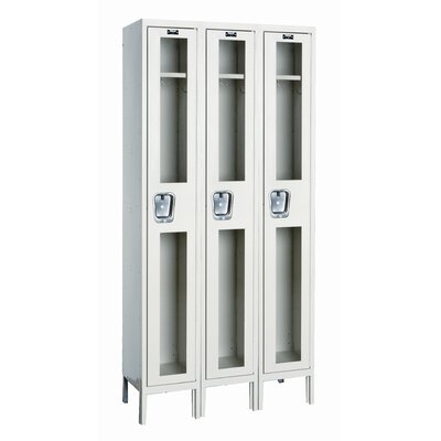 Hallowell Safety-View 1 Tier 3 Wide Stock Locker