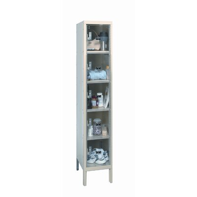 Hallowell Safety-View 5 Tier 1 Wide Plus Stock Locker