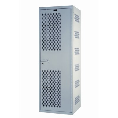 Hallowell SecurityMax 1-Wide Single Tier All-Welded Locker (Quick Ship)
