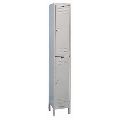 Hallowell ValueMax One Wide Double Tier Locker  (Assembled)