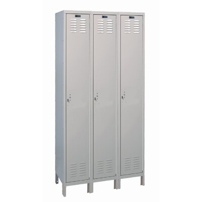 Hallowell Value Max Locker Single Tier 3 Wide (Assembled)