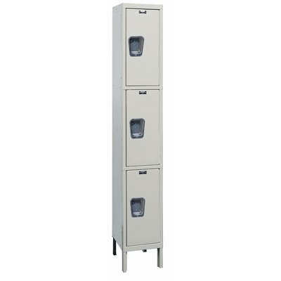 Hallowell Maintenance-Free 3 Tier 1 Wide Quiet Stock Locker