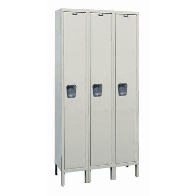 Hallowell Maintenance-Free 1 Tier 3 Wide Quiet Stock Locker
