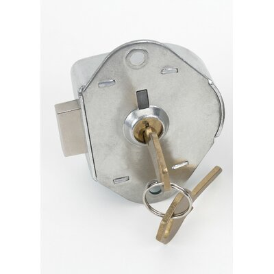 Hallowell Zephyr Built-in Manual Dead Bolt Key lock with Control Key