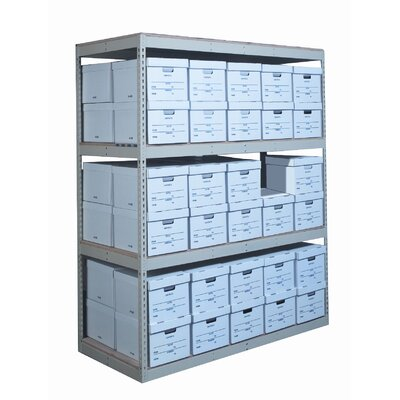 Hallowell Record Storage Decking Shelving Unit Add-on