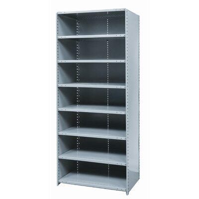 Hallowell Hi-Tech Shelving Medium-Duty Closed Type Starter Unit with 8 Shelves