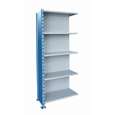 Hallowell Hallowell High Capacity Closed H-Post Shelving, Starter Unit with 5 Shelves