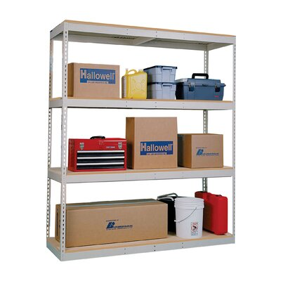 Hallowell Double Rivet Boltless Shelving Add-on Unit Decking