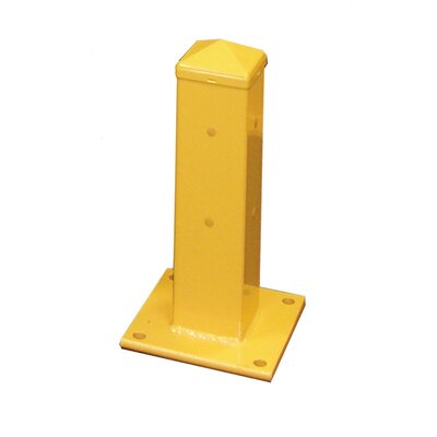 Hallowell Guardrail - Rail Column Assembly Anchoring Plate