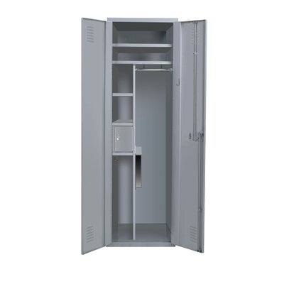 Hallowell TaskForceXP Emergency Response 1-Wide Single Tier All-Welded Double Door Locker (Quick Ship)